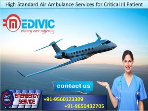 Avoid Risk for Transportation by Medivic Air Ambulance from Guwahati