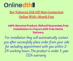 D2H new connection : New packages price list in India