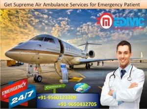 Gain Especially Healthcare by Medivic Air Ambulance from Siliguri