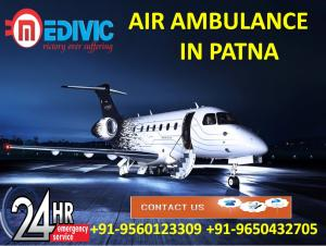 Now Quick Protect the Life by Medivic Air Ambulance Services in Patna