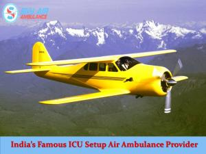 Select Air Ambulance Service in Imphal with Best Medical Facility