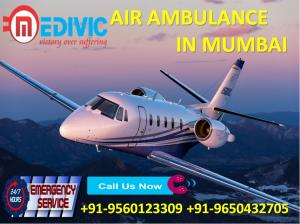 Quick Transfer ICU Patient by Medivic Air Ambulance Services in Mumbai