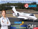 Hire with Minimum Package by Medivic Air Ambulance from Indore
