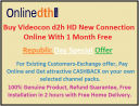 Republic day Cashback offer on 25 and 26 Jan | Videocon d2h new connection