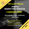 This New Year we are offering Free Digital Marketing Services for 2 months.
