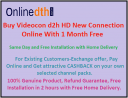 Videocon d2h new connection online price and offers 2020