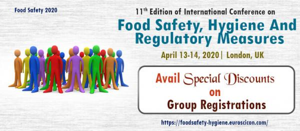 11th Edition of International Conference on  Food Safety, Hygiene And Regulatory Measures