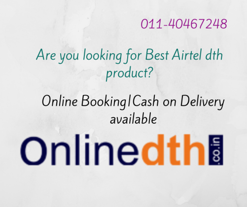 Airtel Digital TV New Connection online price
