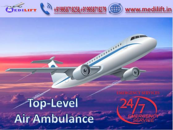 Book Superior Air Ambulance Service in Jabalpur with Doctor