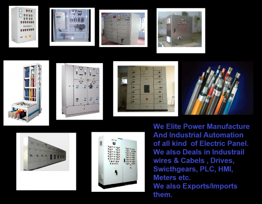 Elite Power(ELECTRICAL PANEL MANUFACTURE & INDUSTRIAL AUTOMATION)