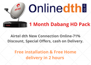 Airtel dth connection online