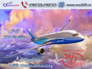 Pick Masterly Air Ambulance Service in Dibrugarh with MD Doctor