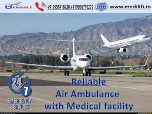 Utilize Classy Medical Equipment Air Ambulance Service in Jamshedpur