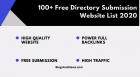 100+ Free Directory Submission website list 2020