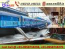 Get India Fastest Train Ambulance Service in Guwahati with ICU