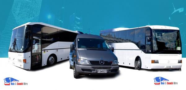 Bus and Coach Hire in Auckland, New Zealand
