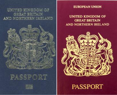 Obtain UK Passport/Resident Permit and Driver License