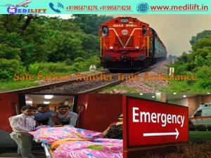 Medilift Train Ambulance from Patna-Hire in Low Cost