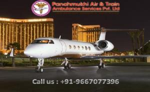 Use Panchmukhi Very Low Fare Air Ambulance in Bangalore with ICU Facility