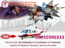 Hi-Tech ICU Emergency Air Ambulance Service in Varanasi