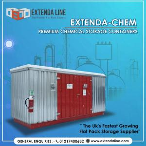 Chemical Storage Containers | Storage Container Shed  | Extenda Line – UK
