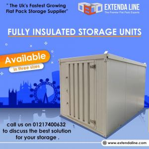Flat Pack Containers, Flat Pack Storage Containers, Flat Pack Storage Solutions