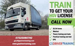 CPC Driver Training, C1 Driver Training in UK