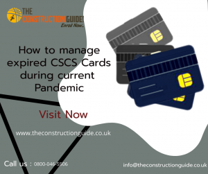 How to manage expired CSCS Card during the current Pandemic? Helpline No-0800-046-5506