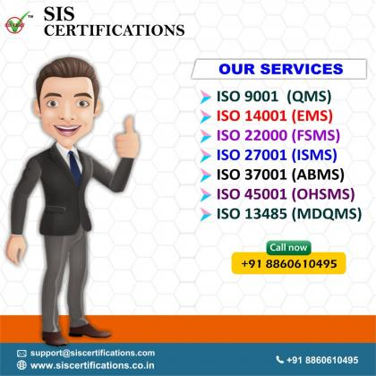 Get ISO 9001 Certification at the affordable price