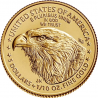New, 2021 1/10 oz American Gold Eagle Type 2 Coins are available