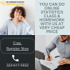 You can do online statistics class & homework with us at very cheap price